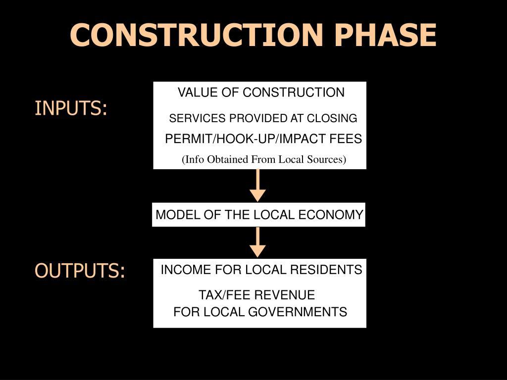 CONSTRUCTION PHASE