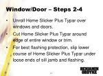 window door steps 2 4