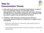 step 5a concentration trends52