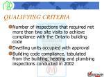 qualifying criteria4