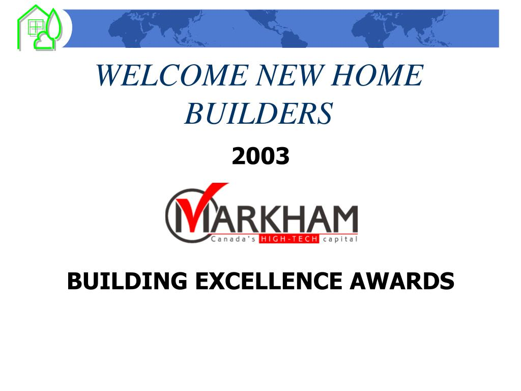 welcome new home builders l.