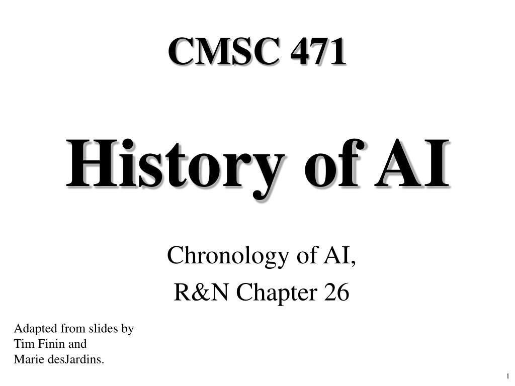 CMSC 471