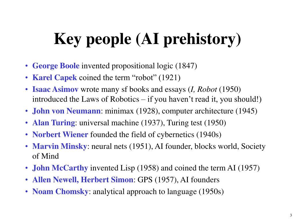 Key people (AI prehistory)