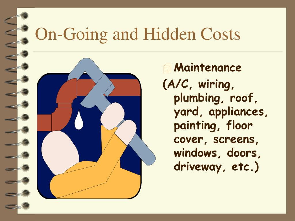 On-Going and Hidden Costs