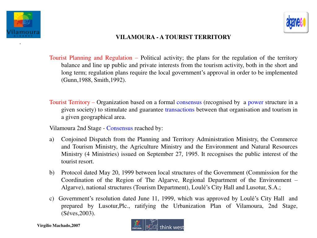 VILAMOURA - A TOURIST