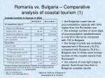 romania vs bulgaria comparative analysis of coastal tourism 1