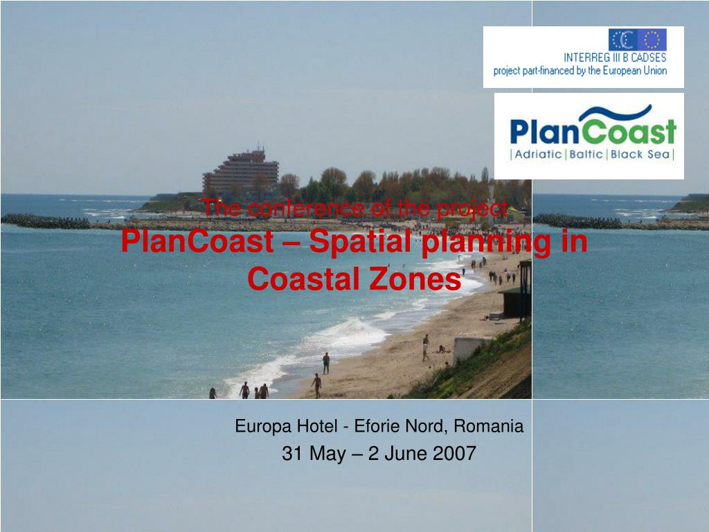 the conference of the project plancoast spatial planning in coastal zones l.