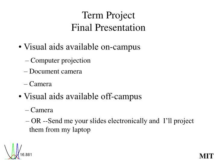 term project final presentation n.