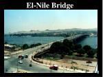 el nile bridge