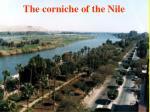 the corniche of the nile