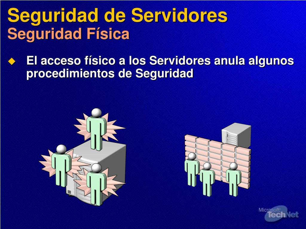 Seguridad de Servidores