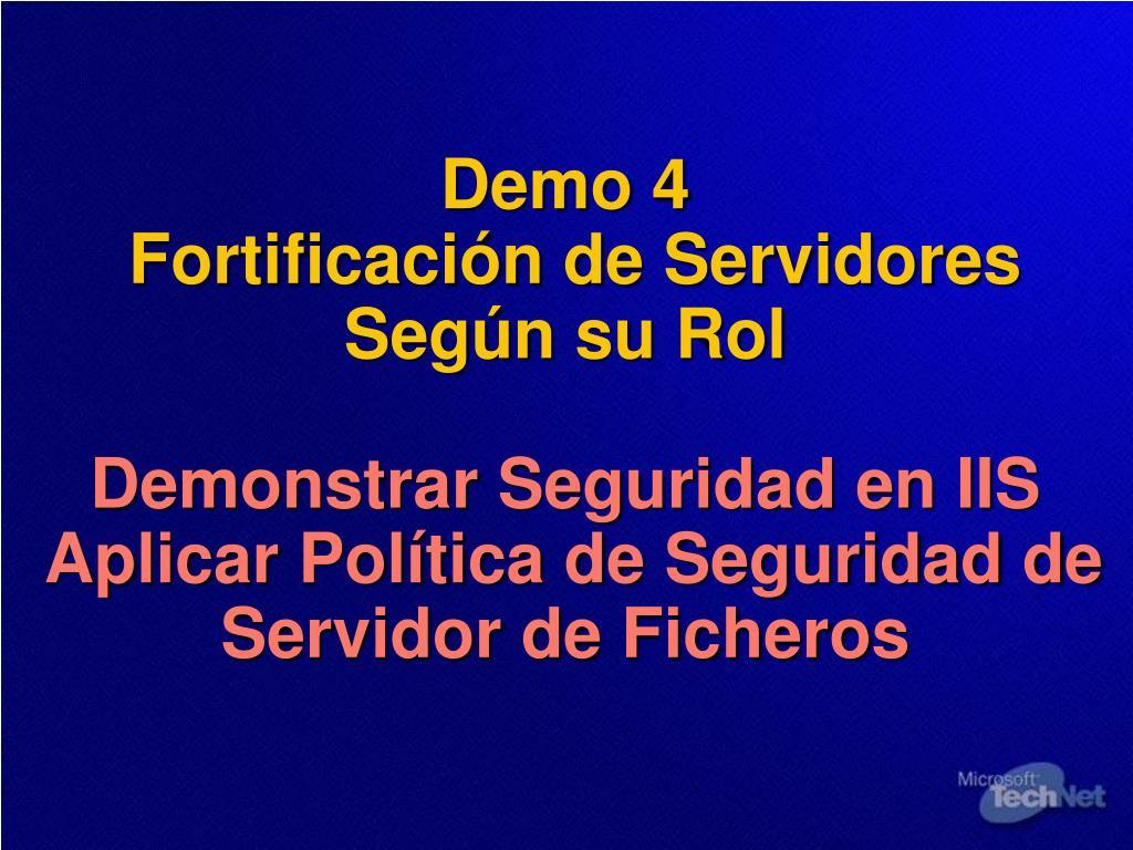 Demo 4