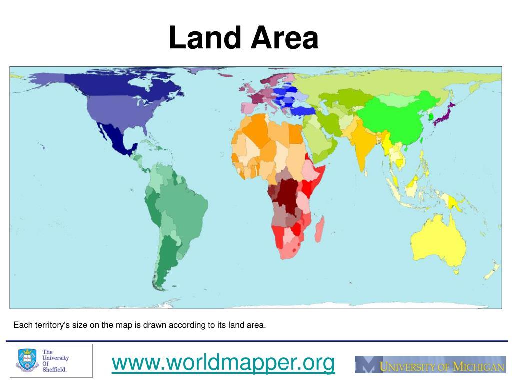 land area l.