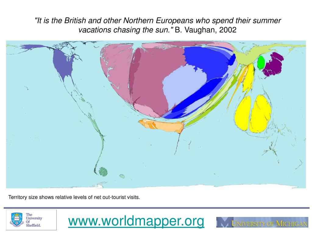 """It is the British and other Northern Europeans who spend their summer vacations chasing the sun."""