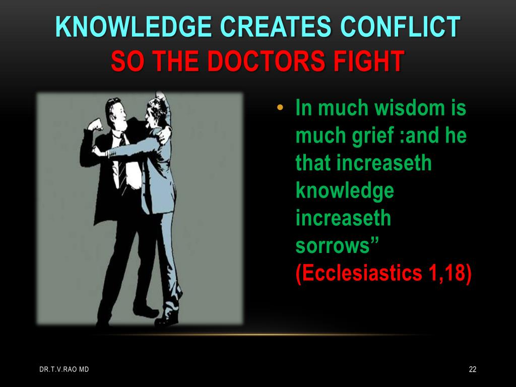 Knowledge creates