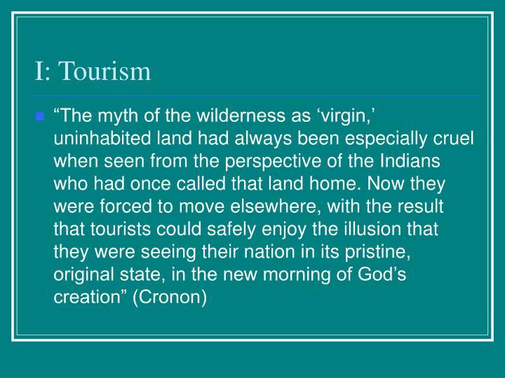 I tourism