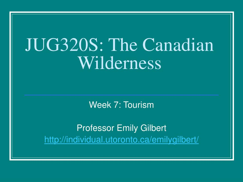 jug320s the canadian wilderness l.
