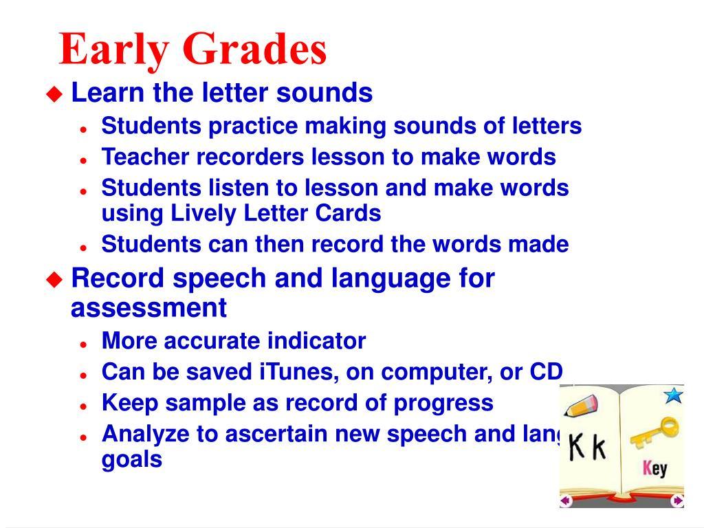 Early Grades