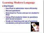 learning modern language7
