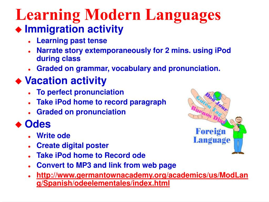Learning Modern Languages