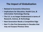 the impact of globalization