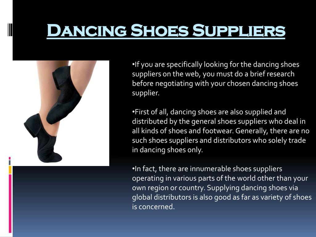 Dancing Shoes Suppliers