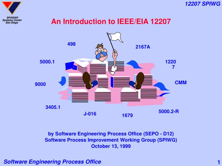 an introduction to ieee eia 12207 n.