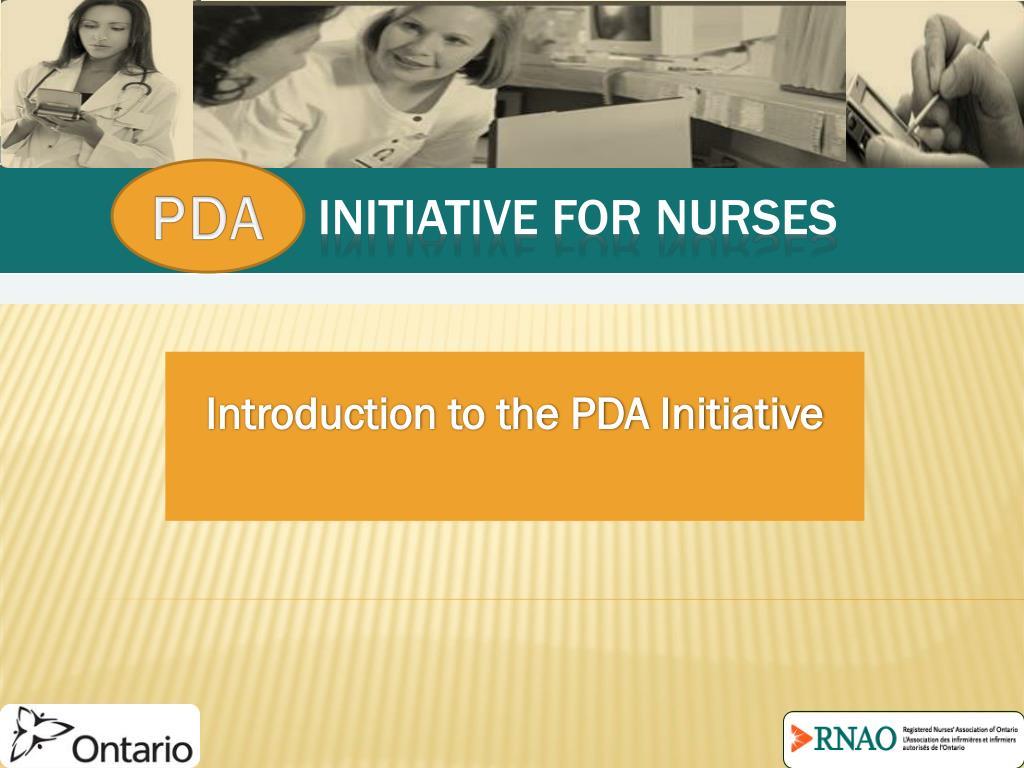 initiative for nurses l.