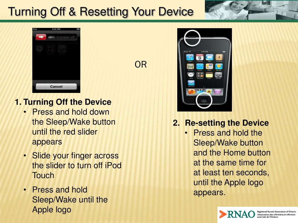Turning Off & Resetting Your Device