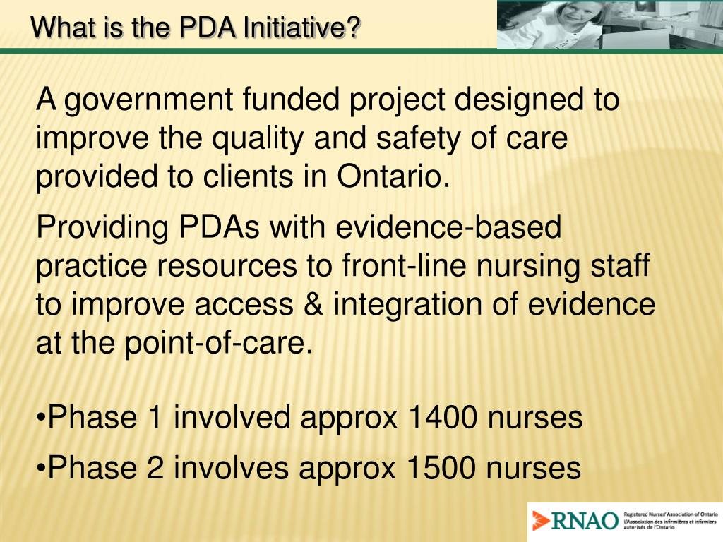 What is the PDA Initiative?