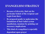 evangelism strategy