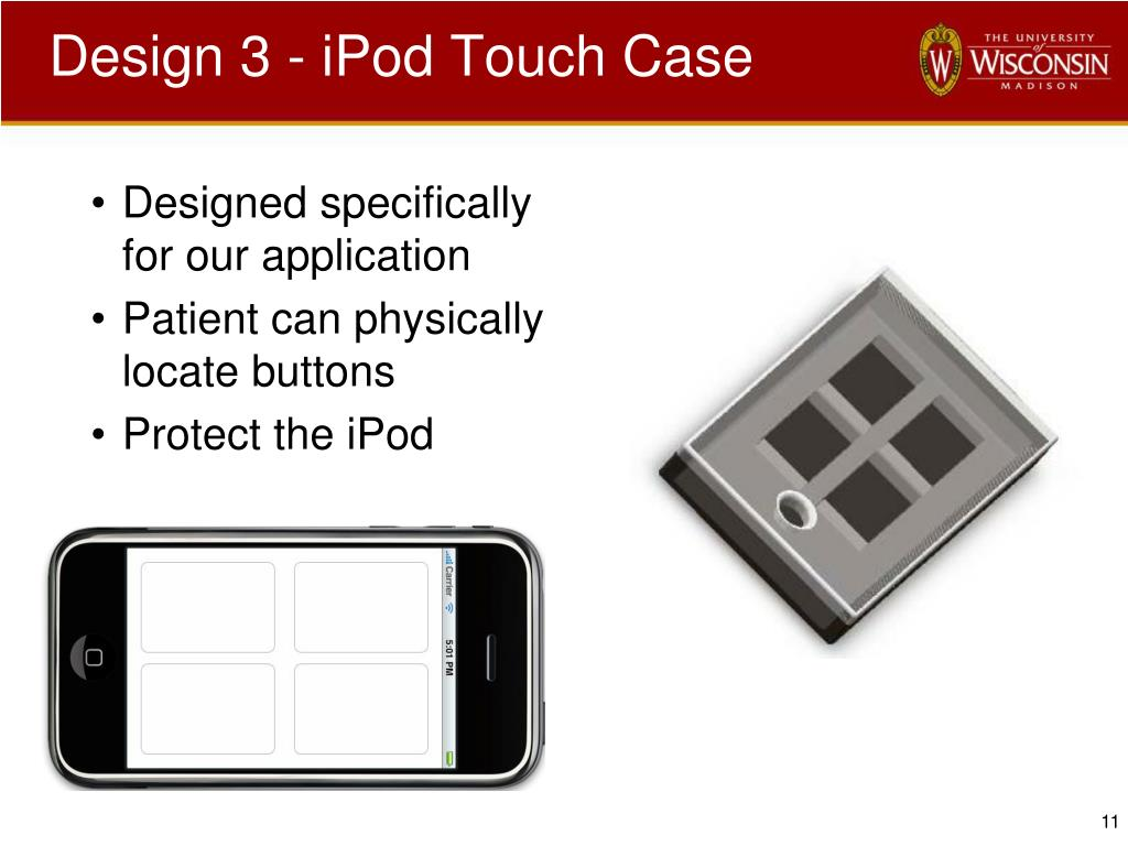 Design 3 - iPod Touch Case