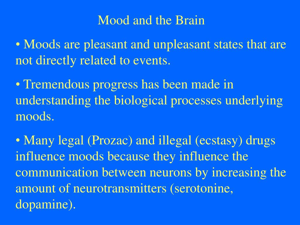Mood and the Brain