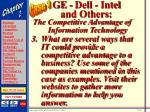 ge dell intel and others43