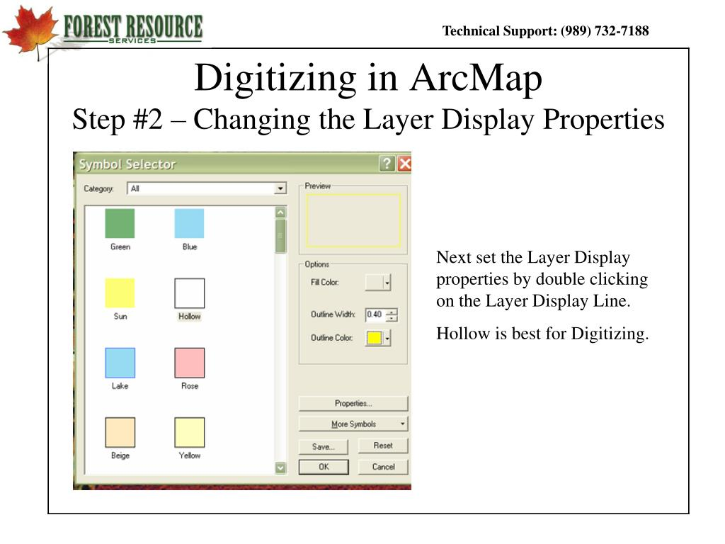 PPT - GIS and Mapping Procedures in ArcMap 9 x PowerPoint