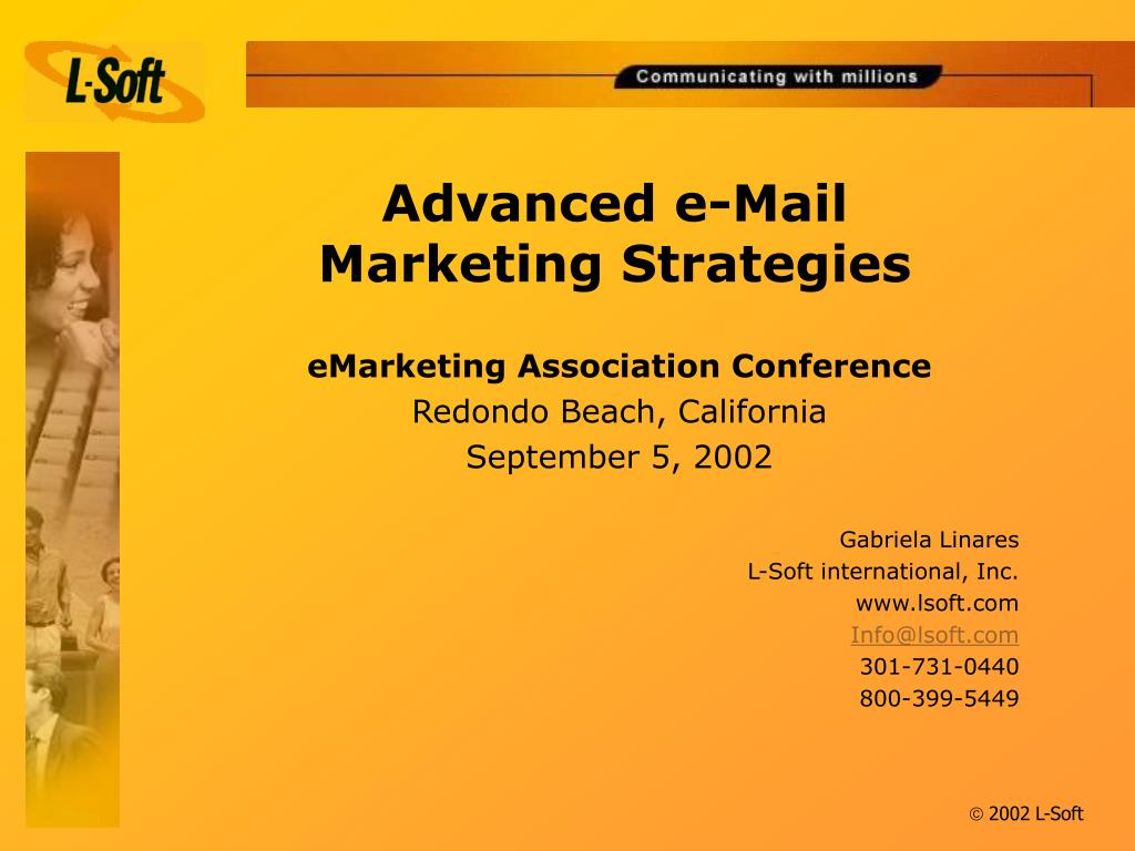 advanced e mail marketing strategies l.