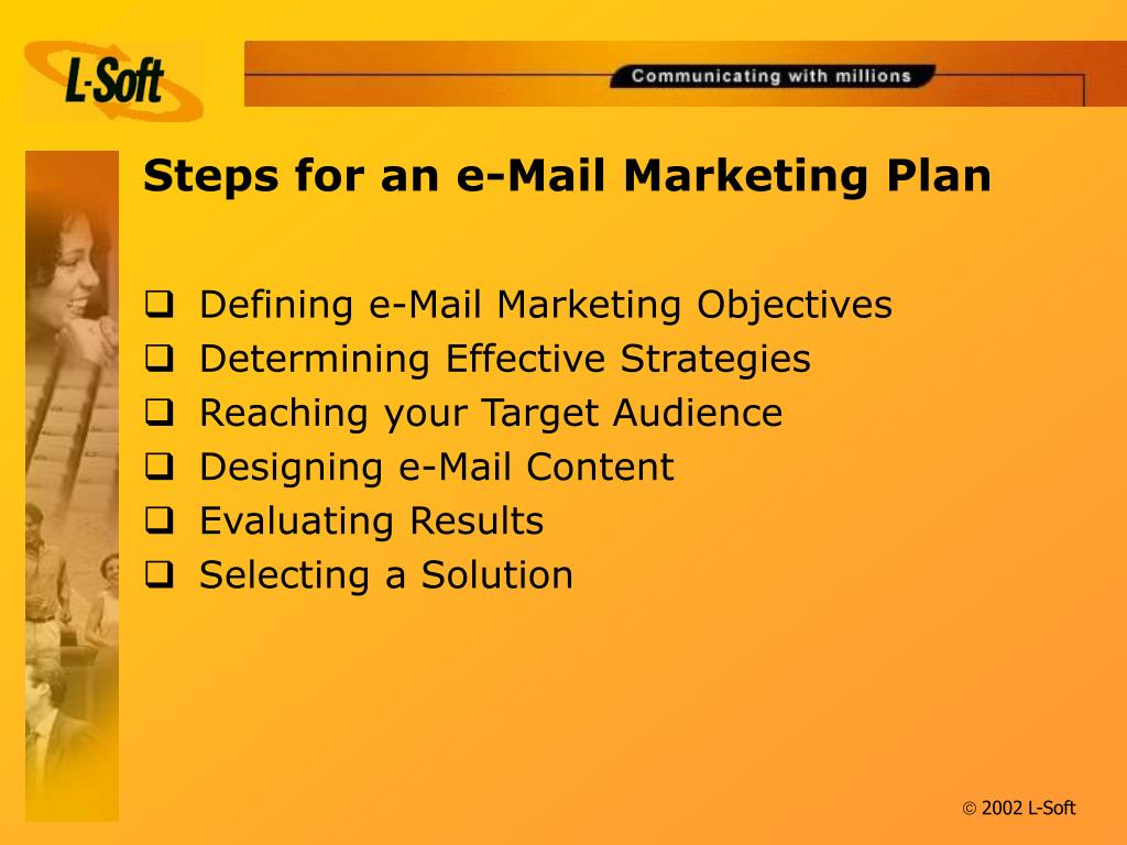 Steps for an e-Mail Marketing Plan