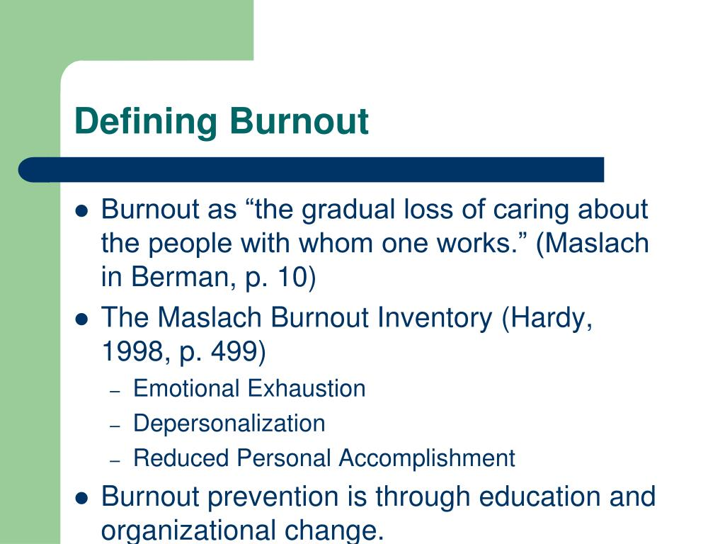 defining stress and burnout What is stress stress is your body's way of responding to any kind of demand it can be caused by both good and bad experiences when people feel stressed by.