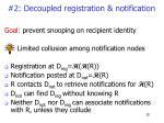 2 decoupled registration notification
