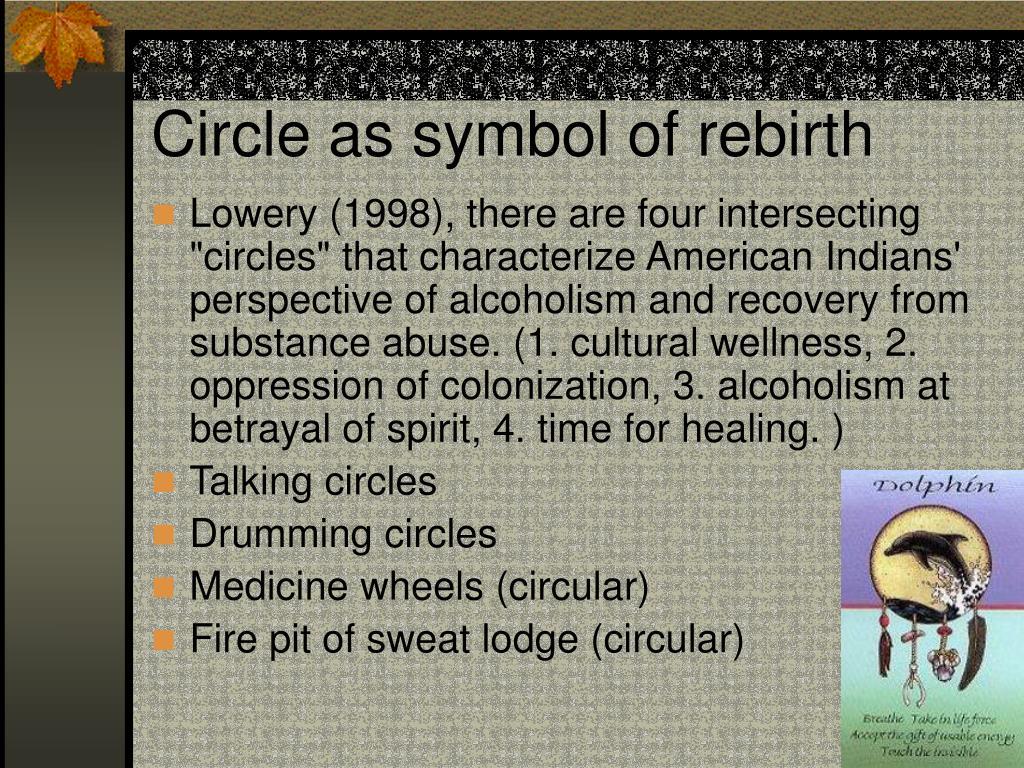 Circle as symbol of rebirth