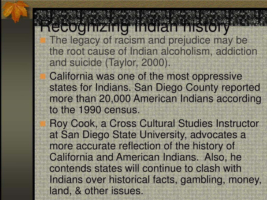 Recognizing Indian history