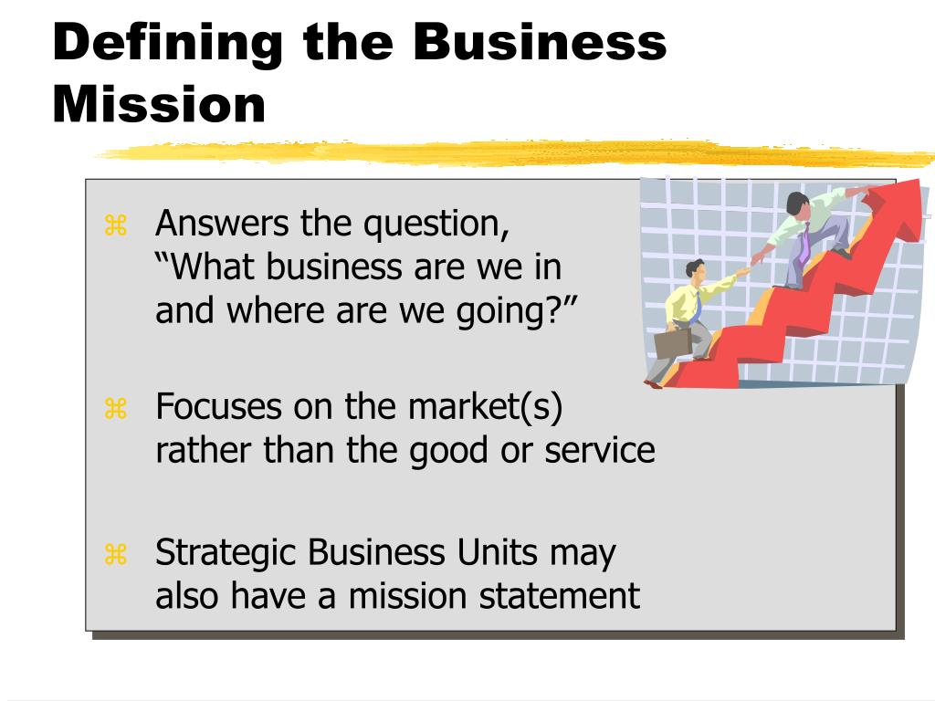 Defining the Business Mission