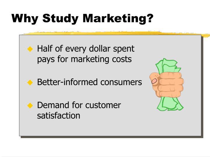 Why study marketing3