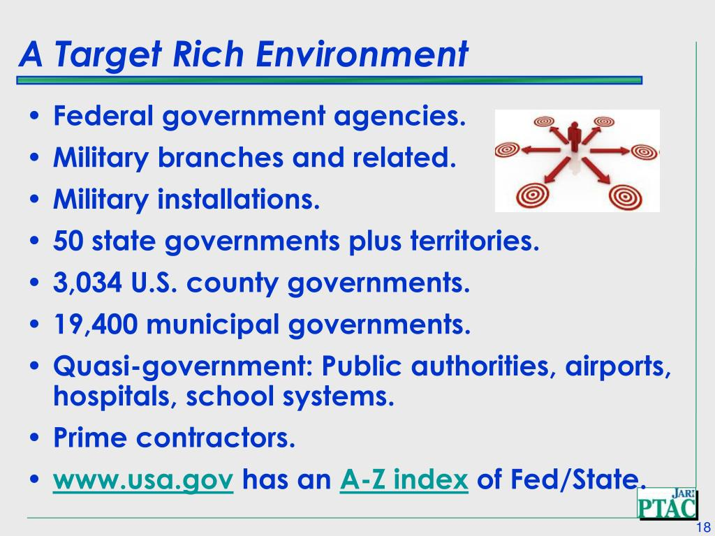 A Target Rich Environment