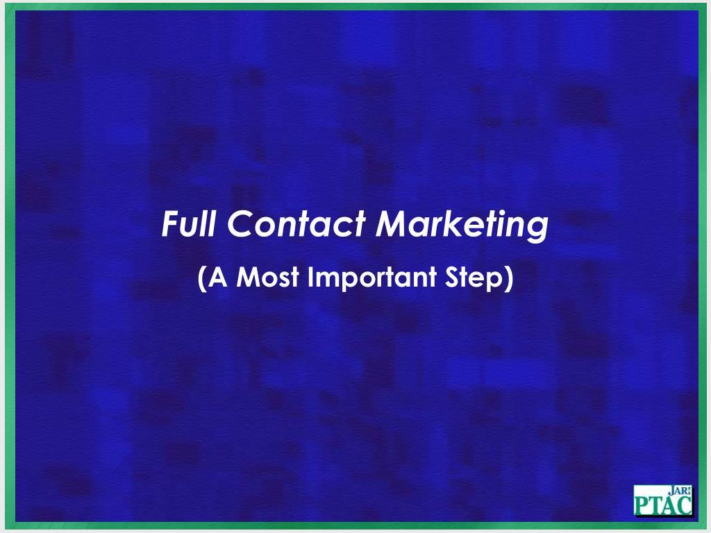 Full Contact Marketing