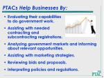 ptacs help businesses by