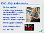 ptacs help businesses by10
