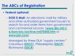 the abcs of registration46