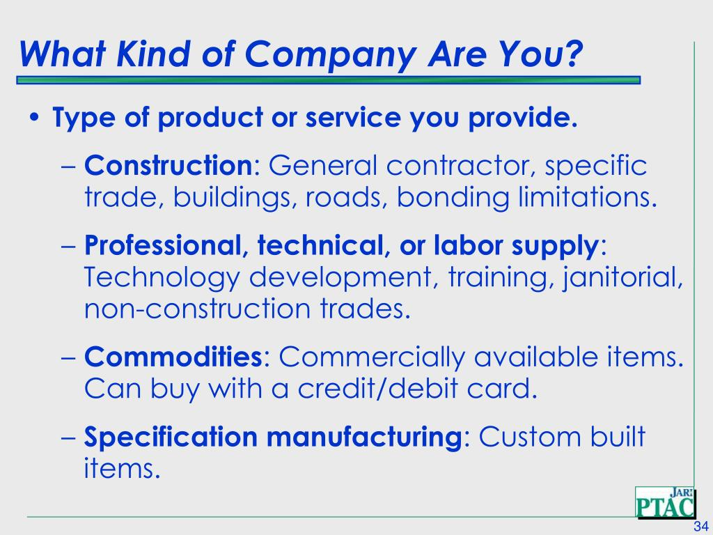 What Kind of Company Are You?