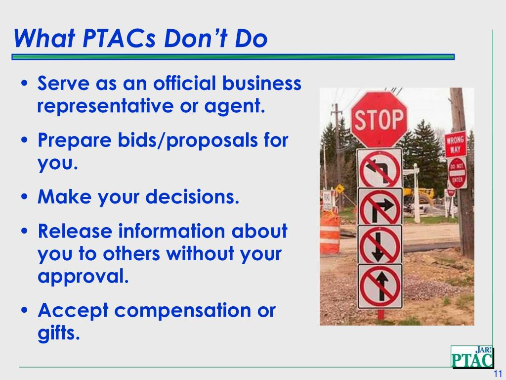 What PTACs Don't Do